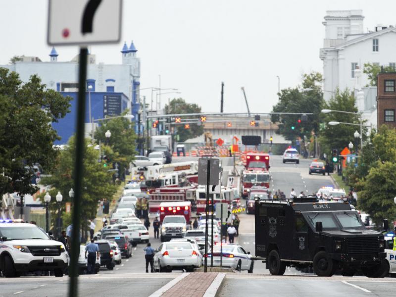Tiroteio em Washington faz vários feridos (Reuters)