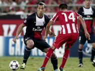 Olympiakos vs Paris Saint Germain (EPA)