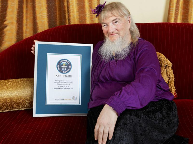 Vivian Wheeler (James Ellerker/Guinness World Records)