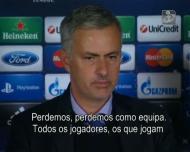 Mourinho perde com Basileia