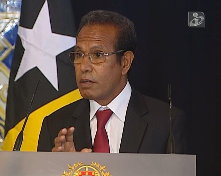 Presidente timorense Matan Ruak em visita oficial a Portugal