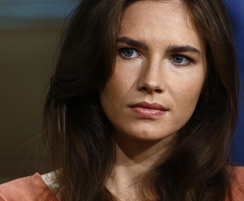 Amanda Knox no «NBC NewsToday» em Nova Iorque Foto: Reuters