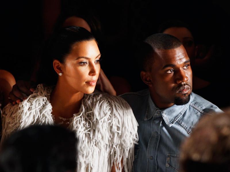 5. Kanye West e Kim Kardashian - 22,2 milhões de euros (Reuters)
