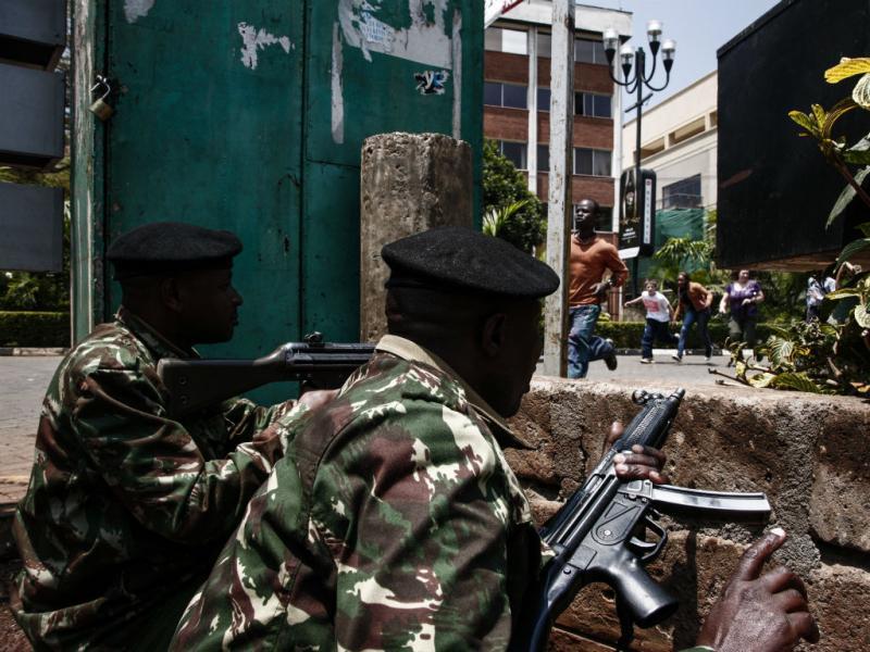 Tiroteio em centro comercial no Quénia (Lusa)