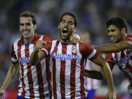 Raul Garcia e Diego Costa (Reuters)
