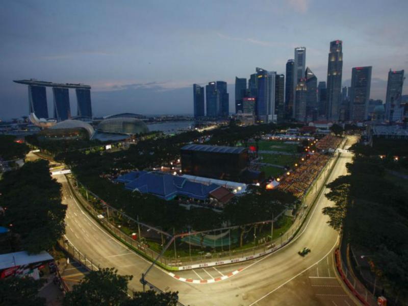 Marina Bay em Singapura