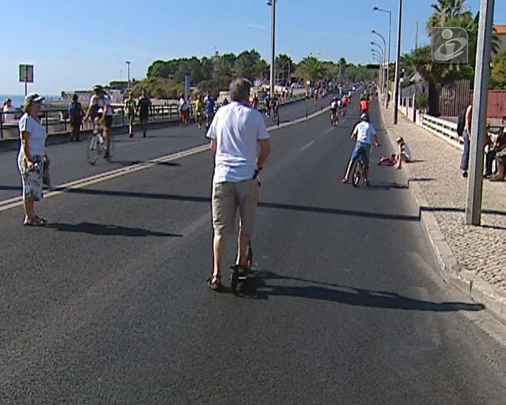 Dia Sem Carros na Marginal em Oeiras