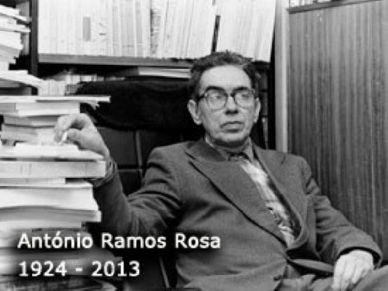 António Ramos Rosa (Foto SPA)