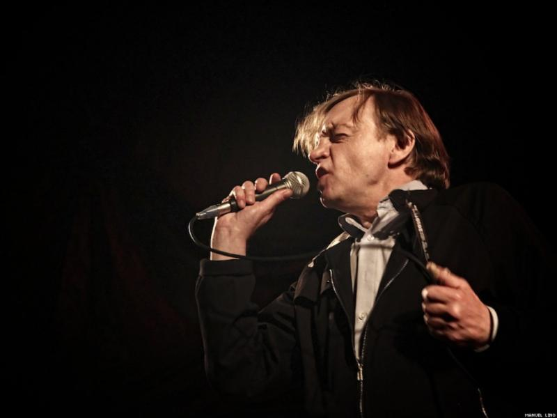 Mark E. Smith, dos The Fall (foto: Manuel Lino)