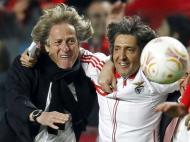 Jorge Jesus e Raúl José (Reuters)