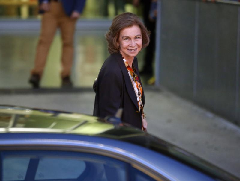 Rainha Sofia - Rei Juan Carlos operado com sucesso Foto: Reuters