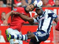 Manchester United vs West Bromwich Albion (EPA/PETER POWELL)