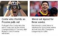 Rui Costa é destaque a nível internacional: BBC (Inglaterra)