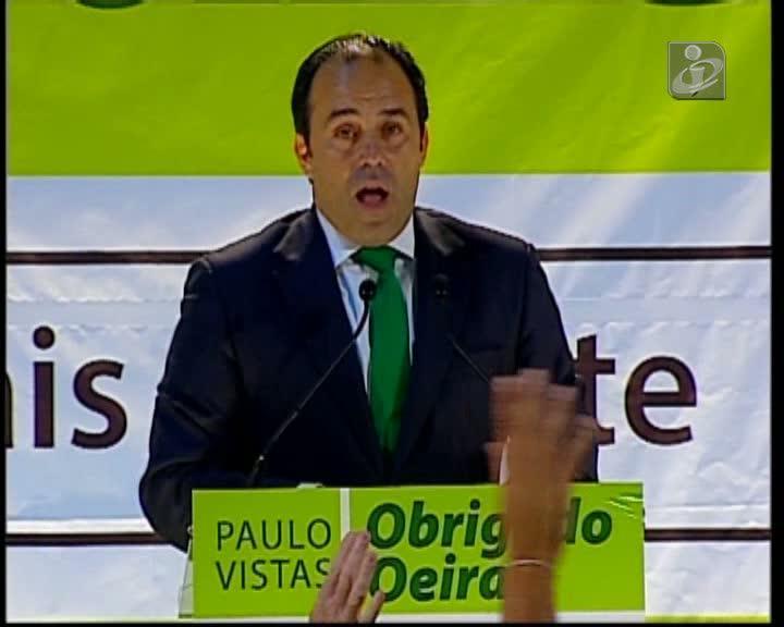 Paulo Vistas congratula-se com vitória em Oeiras