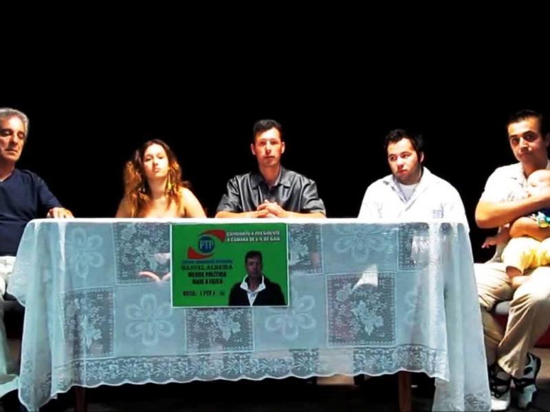 Manuel Almeida, candidato do PTP