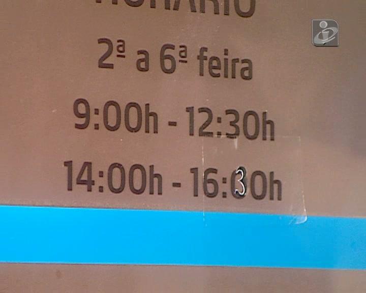 40 horas: nem todos os serviços estavam preparados para alargamento do horário