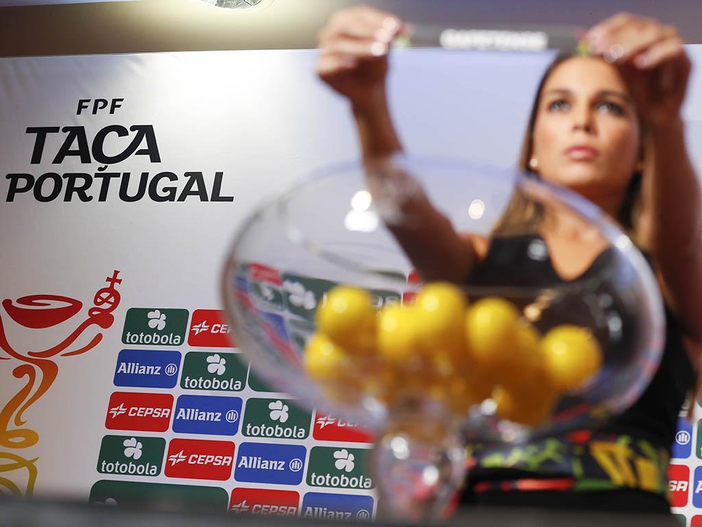 Sorteio Taça de Portugal (FPF/Diogo Pinto)