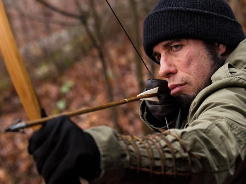 John Travolta em «Killing Season - Temporada de Caça»