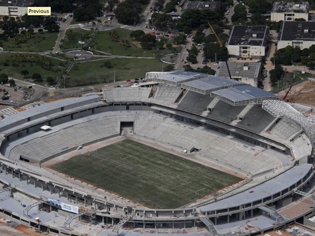 Estádios do Mundial 2014: Estádio das Dunas (FIFA)