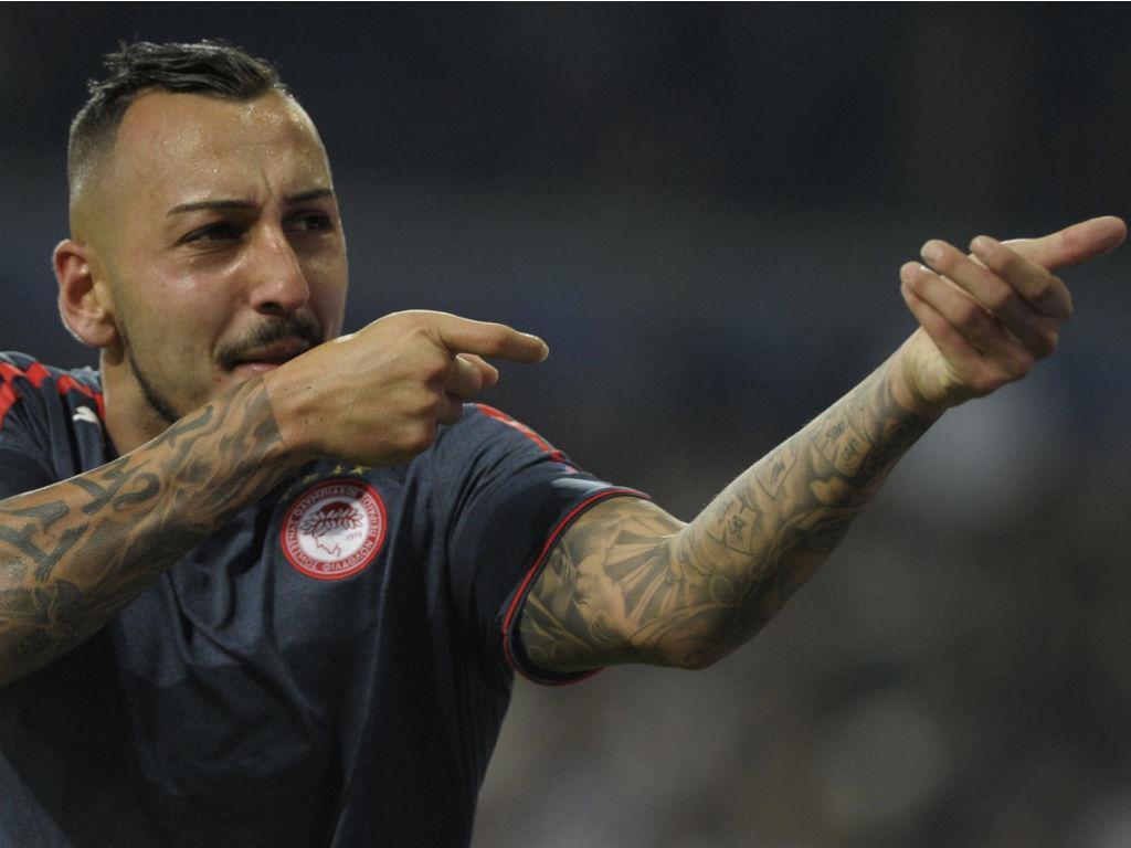 Mitroglou, Olympiacos (Reuters)