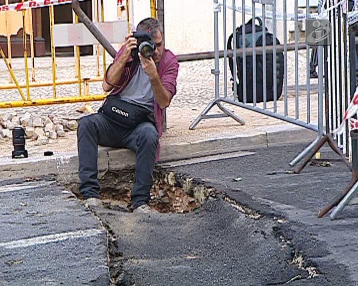 Piso abate em rua de Lisboa e obriga ao corte do trânsito