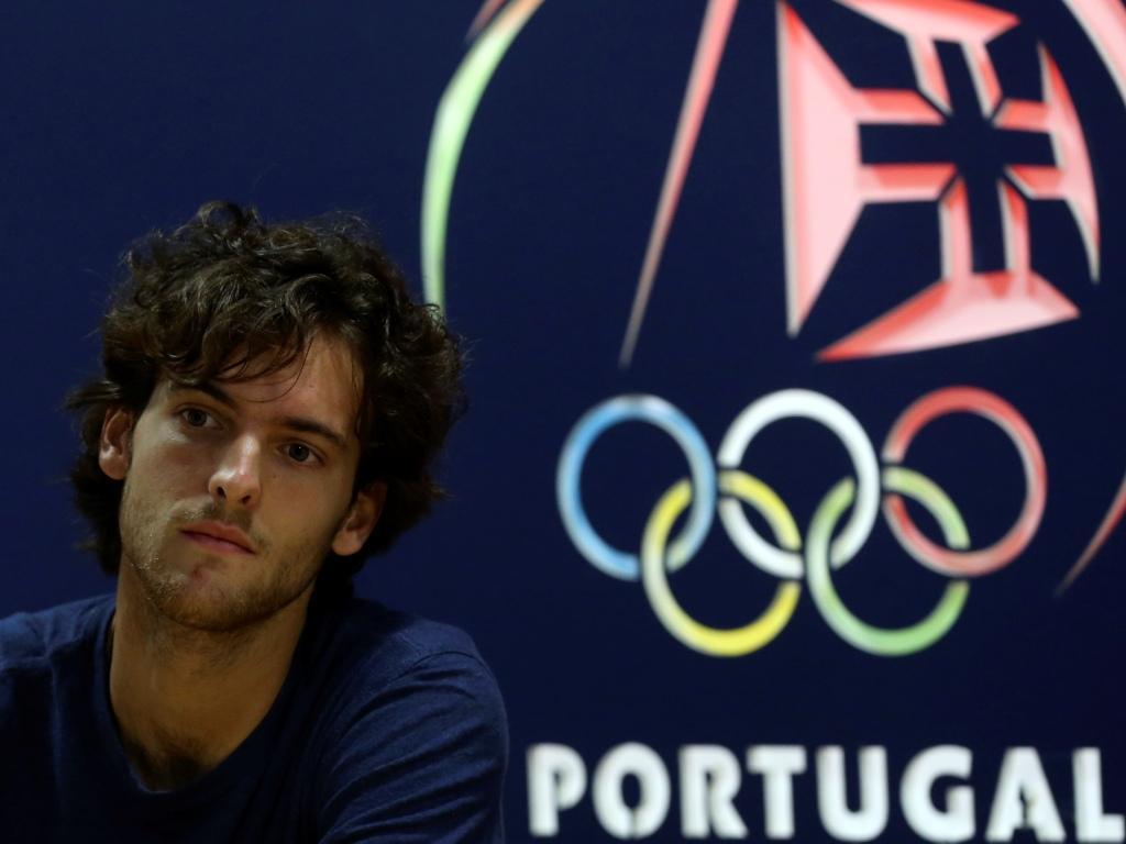 João Sousa no Comité Olímpico de Portugal (Manuel de Almeida/Lusa)