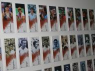 Roland Garros: placas com o nome dos vencedores da zona dos atletas [Foto: Luís Mateus]