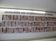 Museu da Federação Francesa de Ténis: todos os vencedores [Foto: Luís Mateus]