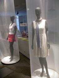 Museu da Federação Francesa de Ténis: vestuário feminino [Foto: Luís Mateus]