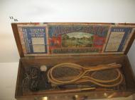 Museu da Federação Francesa de Ténis: o kit do exército [Foto: Luís Mateus]