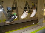 Museu da Federação Francesa de Ténis: a evolução das sapatilhas [Foto: Luís Mateus]
