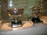 Museu da Federação Francesa de Ténis: as Taças de Roland Garros [Foto: Luís Mateus]