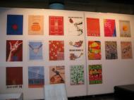 Museu da Federação Francesa de Ténis: os cartazes de Roland Garros [Foto: Luís Mateus]