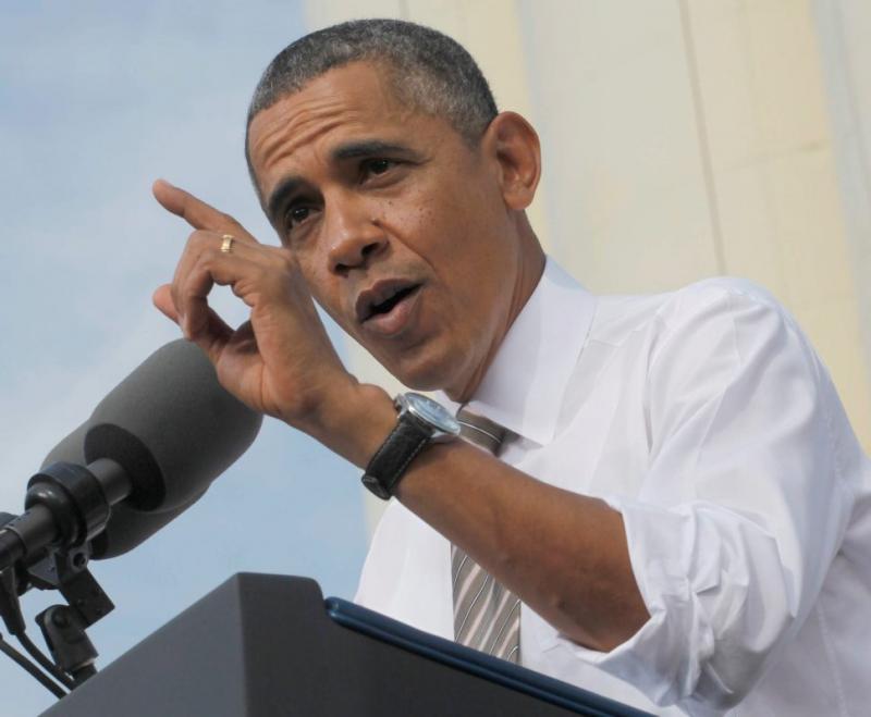 Obama apresenta família portuguesa como exemplo do sonho americano Foto: Lusa