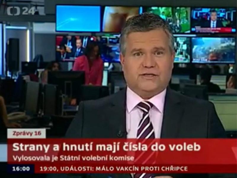 Emissora exibe pénis durante o jornal (reprodução/youtube/Ceska Televize)