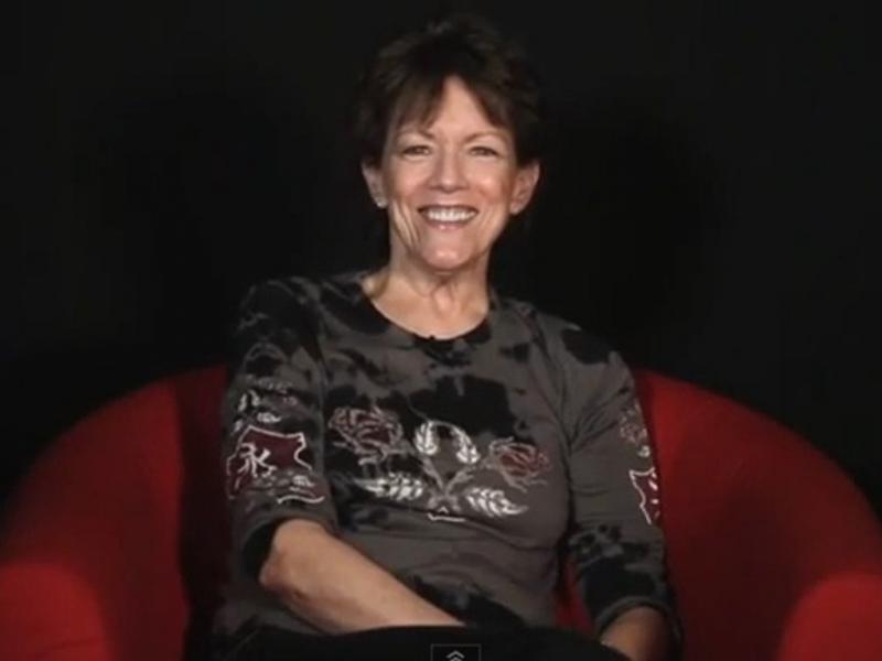 Susan Bennett é Siri, a voz do iPhone (Reprodução CNN)