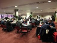 Fórum Wyscout em Londres, no Estádio do Arsenal