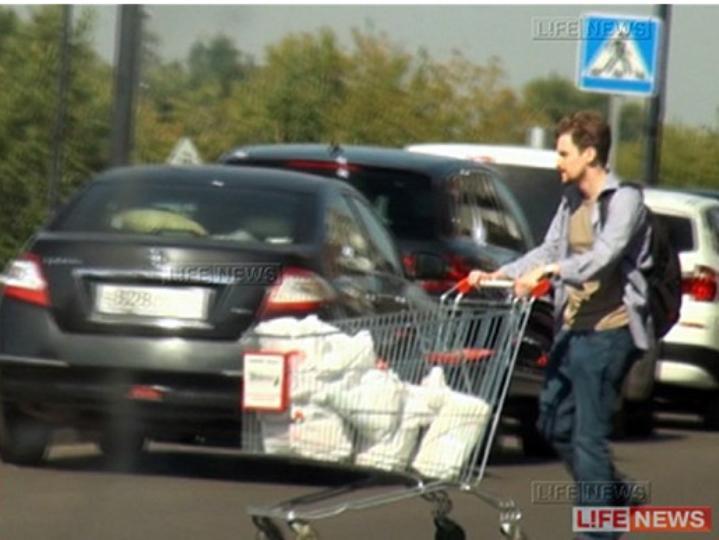 Snowden apanhado nas compras