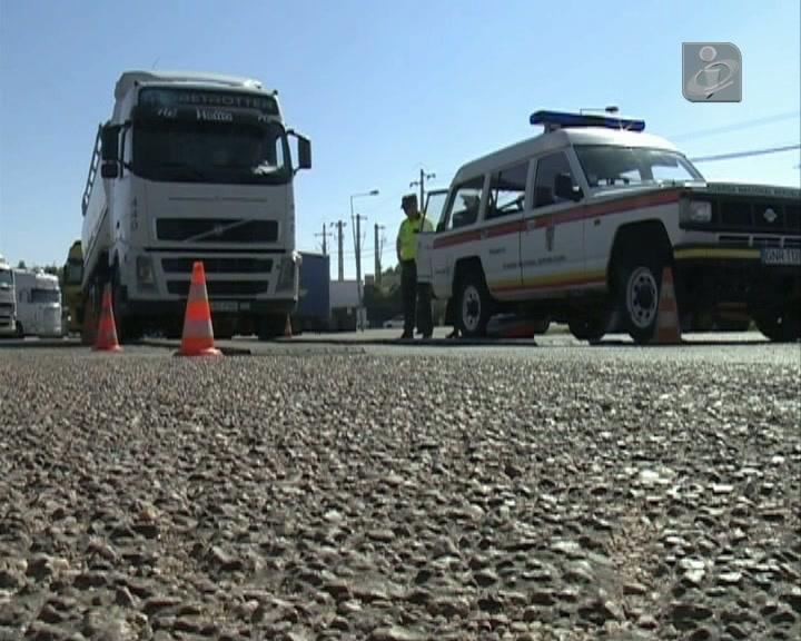 GNR fiscaliza veículos pesados
