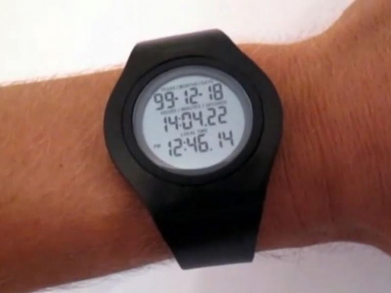 Relógio que prevê a morte (Reprodução / Youtube / Fredrik Colting)