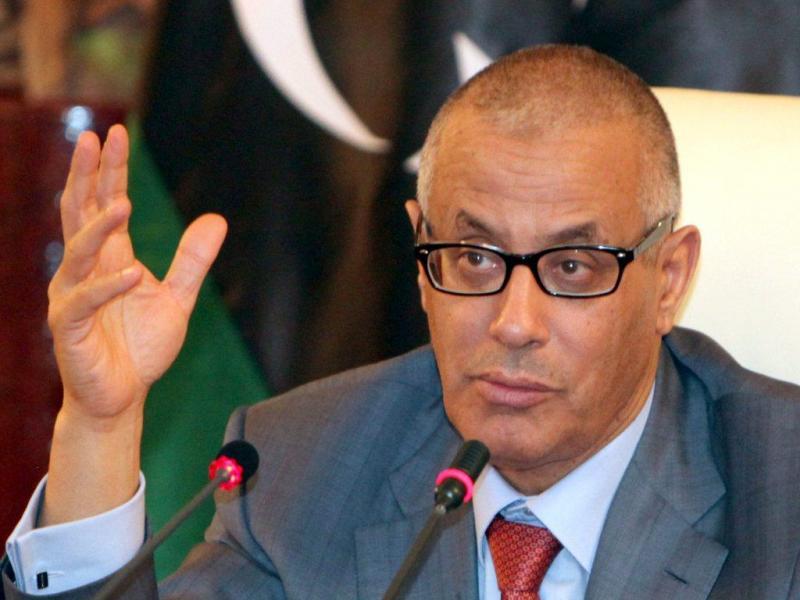 Ali Zeidan, primeiro-ministro da Líbia (foto Lusa)