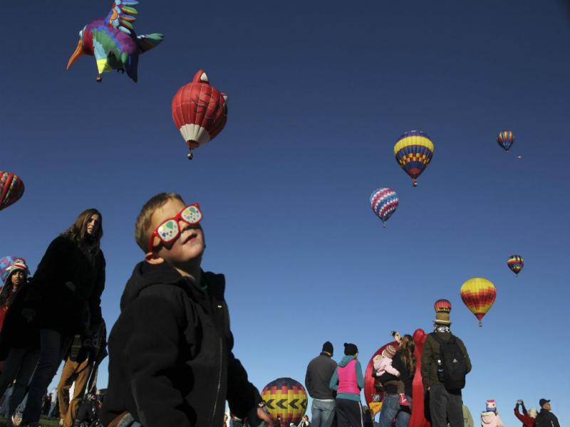 42º Edição do Festival Internacional de Balonismo de Albuquerque (Foto Reprodução Jose Luis Gonzalez/ REUTERS)