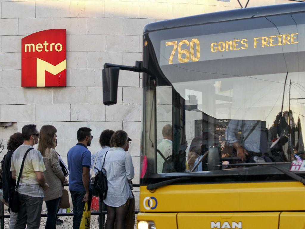 Greve do Metro (Lusa)