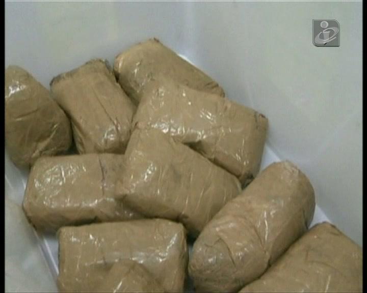 200 quilos de droga escondida nos pneus de um camião