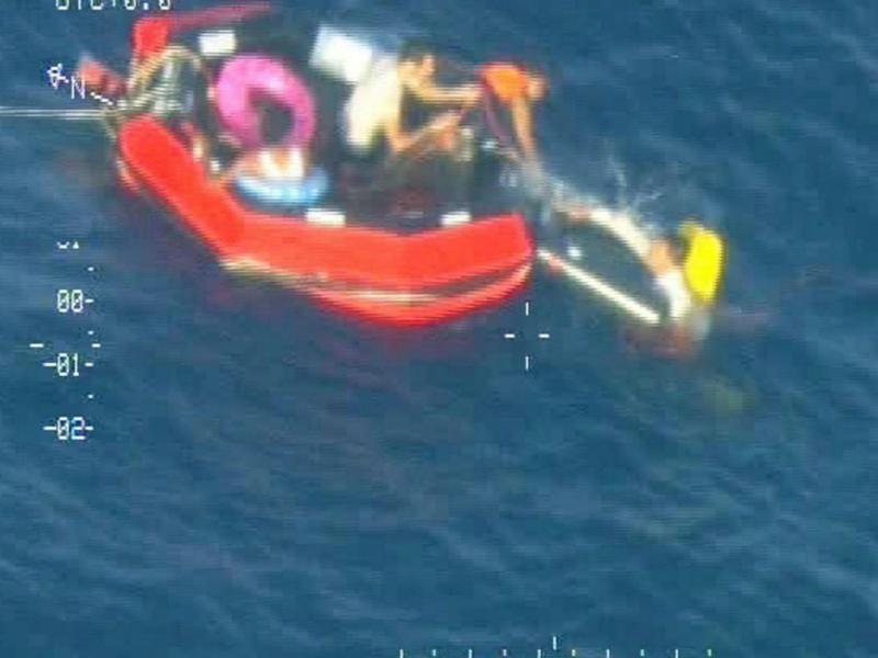 Mais um trágico naufrágio na Sicília (EPA)
