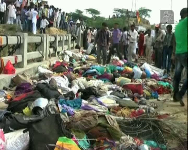 Tragédia em festival religioso hindu