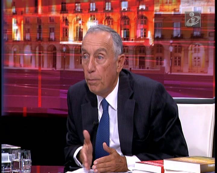 Marcelo Rebelo de Sousa fala sobre os cortes das pensões de sobrevivência