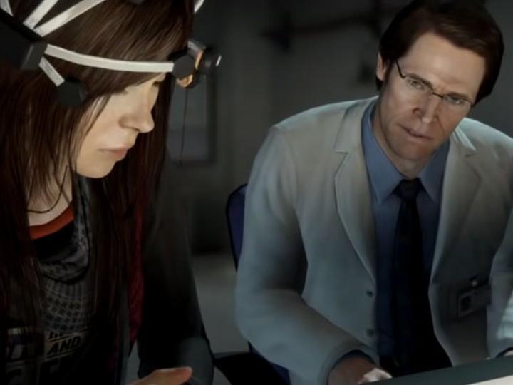 Ellen Page e Willem Dafoe no videojogo «Beyond - Duas Almas»