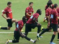 Treino da Seleção Nacional em Óbidos (LUSA)