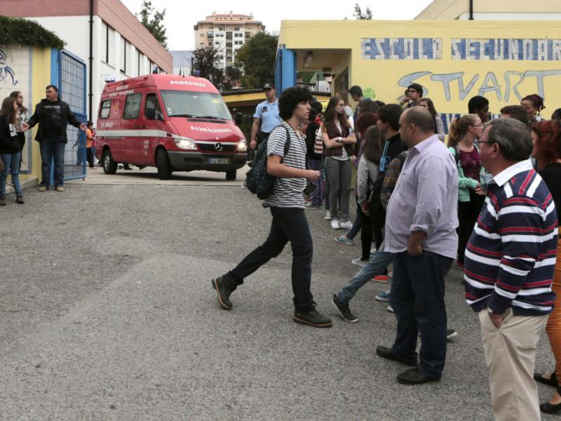 Esfaqueamento em escola de Massamá (Lusa)